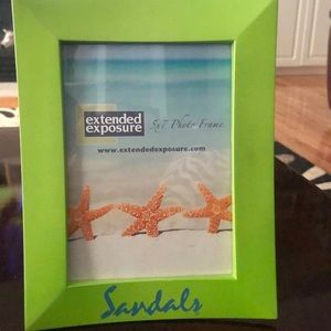 Sandals 5x7 Picture Frame